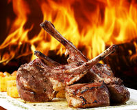 Fleisch Stockfoto