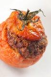 Fleisch-angefüllte Tomaten Lizenzfreie Stockfotografie