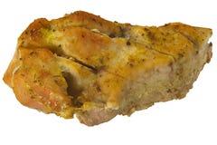 Fleisch auf Weiß Stockbild