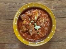 Fleisch Durbari Stockfoto