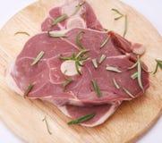 Fleisch eines Lamms Lizenzfreies Stockfoto