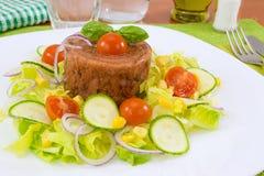 Fleisch im Aspik Stockfotografie