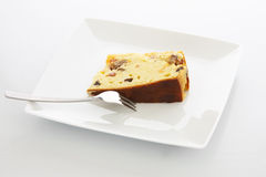 Fleisch-Kuchen-Scheibe Lizenzfreies Stockbild