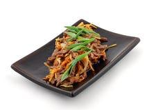 Fleisch mit Gemüse Stockbilder