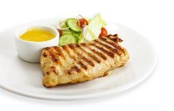 Fleisch mit Gemüse lizenzfreies stockfoto