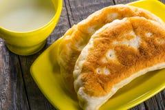 Fleisch-Torten lizenzfreie stockfotos