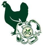 Fleisch und Eier Stockfotografie