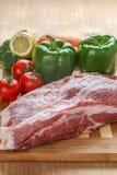Fleisch und Gemüse Lizenzfreie Stockbilder