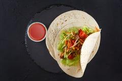 Fleisch- und Gemüseverpackungen lizenzfreie stockfotos
