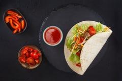 Fleisch- und Gemüseverpackungen lizenzfreie stockfotografie