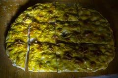 Fleisch-und Kartoffel-Torte stockfoto