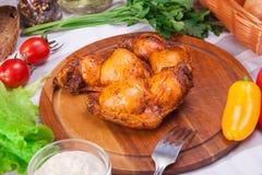 Fleisch und Würste stellten vom frischen und zugebereiteten Fleisch ein Rindfleisch, Schweinefleisch, gesalzenes Schweinefett und Lizenzfreies Stockfoto