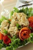Fleischmehlklöße als Rosen Stockbilder