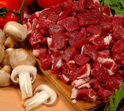 Fleischstücke Lizenzfreie Stockbilder