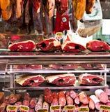 Fleischstandplatz lizenzfreies stockbild
