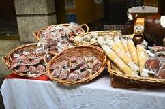 Fleischstandplatz stockfoto