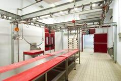 Fleischverarbeitungfabrik Lizenzfreie Stockfotos