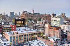 Fleischverpackungs-Bezirk - New York City Lizenzfreie Stockbilder