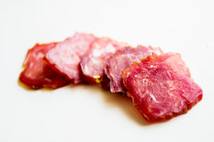 Fleischwurst Stockbild