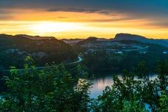 Flekkefjord, Norvège Photographie stock libre de droits