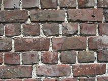 Flemish Bond Brickwork. Unique old  'Flemish Bond' brickwall. An arrangement of bricks so that each course consists of alternate bricks with short sides and long Stock Images