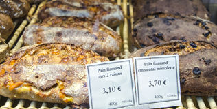 Flemish Buns in Paris Royalty Free Stock Photos