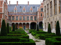 Flemish courtyard 1 Royalty Free Stock Photography