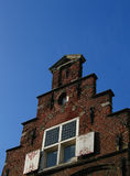 Flemish house. The façade of an historic Flemish house in Holland Stock Photography