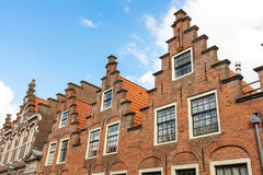 Flemish house architecture Royalty Free Stock Image