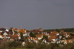 Flemish houses Royalty Free Stock Photography