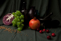 Flemish still life Royalty Free Stock Image