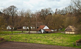 Flemish village Royalty Free Stock Image