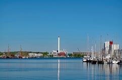 Flensburg, λιμάνι στοκ εικόνες