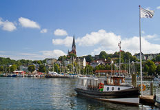Flensburg Royalty Free Stock Photography
