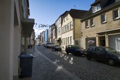 Flensburg Street Royalty Free Stock Images
