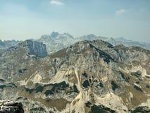 Flera bergtittar Arkivfoton