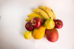 Flera mogen tropisk frukt Royaltyfria Foton