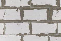 Flera rader av väggar Arkivfoto