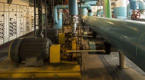 Flera vattenpumpar med elektriska motorer Royaltyfri Bild