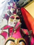 Flera venetian maskeringar Arkivfoton