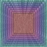 Flerfärgad fyrkant och rambakgrund Royaltyfri Fotografi