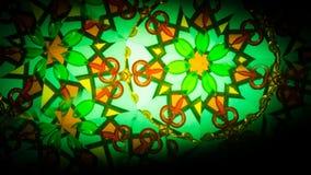 Flerfärgad härlig modell Ljus färgtextur för abstrakt målning Kaleidoskope bakgrund Arkivfoton