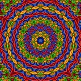 Flerfärgad kalejdoskop Fotografering för Bildbyråer