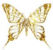 Flerfärgad logo för fjäril Arkivfoton