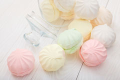 Flerfärgad marshmallow Royaltyfri Bild