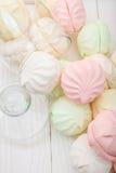 Flerfärgad marshmallow Royaltyfria Bilder