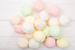 Flerfärgad marshmallow Royaltyfri Fotografi