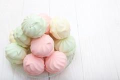Flerfärgad marshmallow Royaltyfri Foto
