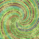 Flerfärgad virveltextur, abstrakt bakgrund med små linjer på virvel royaltyfri illustrationer