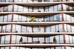 Flerfamiljshus Fotografering för Bildbyråer